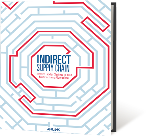 insider guide to decreasing your indirect manufacturing supply chain spend ebook.